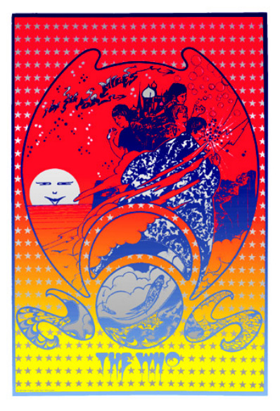 1967: Promotional poster for
